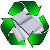 Papier réutilisé Photographie stock