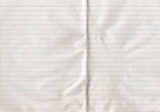 Papier rayé double par feuille Photo libre de droits