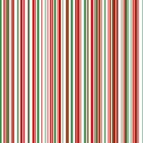 Papier rayé par thème de Noël Photographie stock