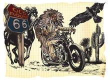 Papier rider_COL_02 stock abbildung