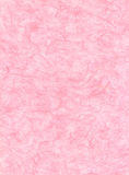 Papier rose de fibre Images libres de droits