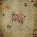 Papier rose de texture grunge Photographie stock