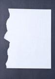papier rozdzierający Zdjęcia Stock