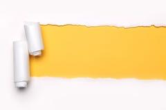 papier rozdzierający zdjęcie stock