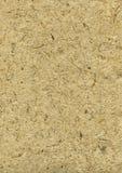 Papier rugueux fabriqué à la main avec des pailles dans #1 beige Photographie stock libre de droits