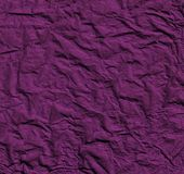 Papier rumpled mauve Photographie stock libre de droits