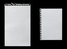 Papier s'arrêtant Photographie stock libre de droits