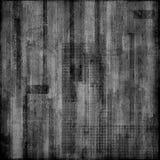 Papier sale noir et blanc Photo libre de droits
