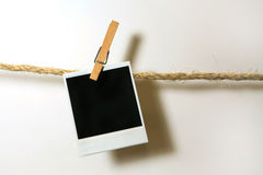 papier się rocznik polaroidu zdjęcia stock