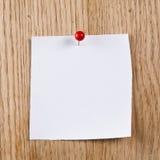 Papier sur en bois Images stock