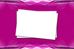 Papier sur Violet Pink Background Image libre de droits