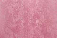 Papier texturisé rose Images libres de droits