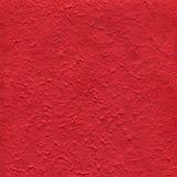 Papier texturisé rouge Photo libre de droits