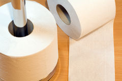 papier toalety się Obrazy Stock