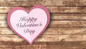 Papier Valentine Heart Image stock