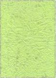 Papier vert de cru vieux Photos stock