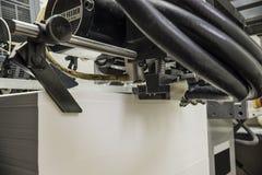 Papier w odsadzki drukowej maszynie fotografia royalty free