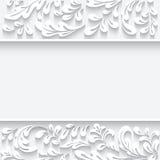Papier wirbelt Hintergrund Lizenzfreie Stockbilder