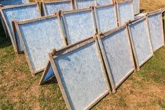 Papier wurde durch Sonnenlicht getrocknet lizenzfreie stockfotografie