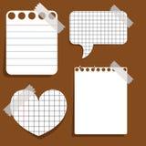 Papieraufkleber Stockbilder