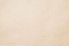 Papierbeschaffenheit - Blatt des braunen Papiers Stockbild