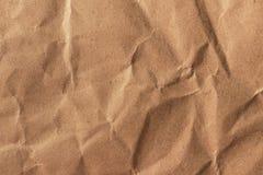 Papierbeschaffenheit - Blatt des braunen Papiers Stockfotos