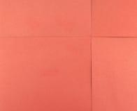Papierblatt des roten Quadrats Lizenzfreie Stockfotos