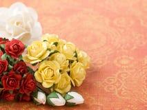 Papierblumen Stockbilder