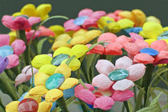 Papierblumen Stockbild