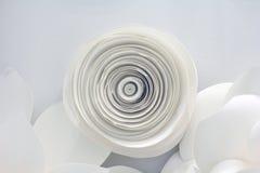Papierblumen-Design Stockbild