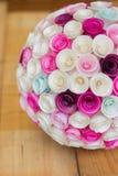 Papierblumenball Lizenzfreie Stockbilder