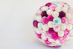 Papierblumenball Lizenzfreies Stockfoto