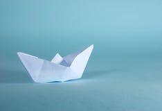 Papierboot Stockbild