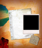 Papiercollage lizenzfreie stockfotografie
