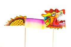 Papierdrache-Marionetten-Figürchen Lizenzfreies Stockbild