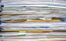 Papiere archivierten weg Lizenzfreie Stockfotos