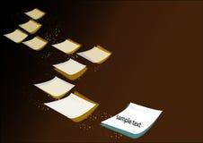 Papierfall Lizenzfreie Stockbilder