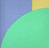 Papierfarbenpapphintergrund Lizenzfreies Stockfoto