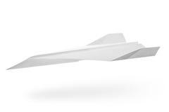 Papierflugzeug Lizenzfreies Stockfoto