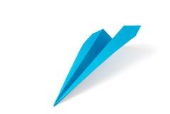 Papierflugzeug Stockfotografie