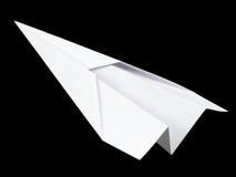 Papierflugzeug Lizenzfreies Stockbild