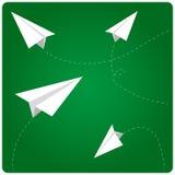 Papierflugzeuge vektor abbildung