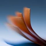 Papierformen Stockfotos
