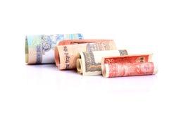 papiergeld Royalty-vrije Stock Foto's