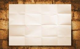 Papierhintergrund Lizenzfreies Stockfoto