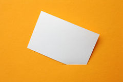 Papierkarte Stockfotos
