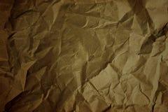 Papierkastenbeschaffenheit herein zerknittert von der dunklen Farbe Lizenzfreie Stockfotos