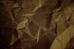 Papierkastenbeschaffenheit herein zerknittert von der dunklen Farbe Lizenzfreie Stockbilder