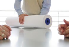 papierkowa robota 1 Fotografia Stock