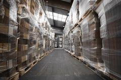 Papierlager Lizenzfreies Stockfoto